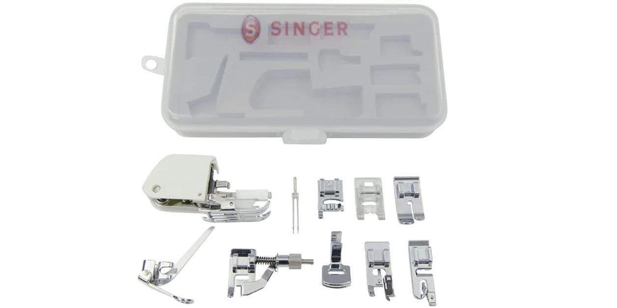 Mejores accesorios para máquinas de coser: kit de prensatelas